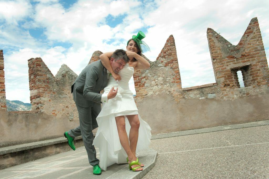 Bruiloft Jorien en Michael aan het Gardameer
